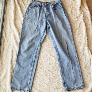 Tommy Hilfiger Vintage Flag Mom Jeans 30 x 31